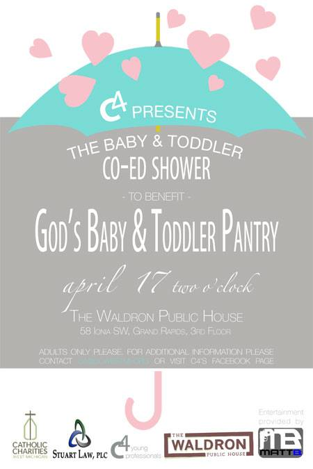 Baby And Toddler Shower Catholic Charities West Michigan