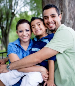 Happy-Hispanic-family