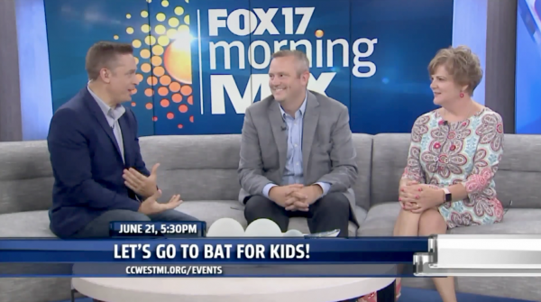 Fox 600x335 - Fox17's Morning Mix: Let's Go to Bat for Kids charity game to raise money forCCWM
