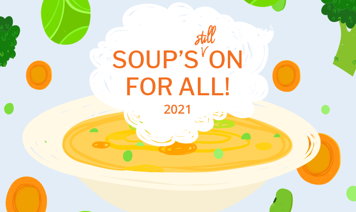 Soups still On 1 - Soup's On For All!