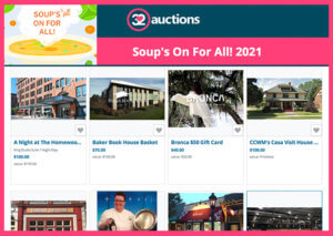 SOFA Auction2 300x213 - Soup's On For All!