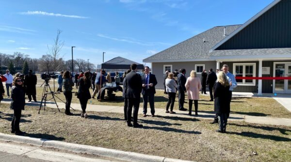 Kolbe Center Ribbon Cutting32 600x335 - MLive: Catholic Charities drug and alcohol detox center in Muskegon aims to 'restore lives'