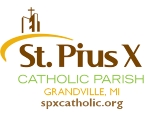 St. Pius X Logo with Grandville and web address 300x225 - Confident Kids: Back To School Hair Care Event